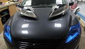 Штраф ГИБДД за тонировку фар автомобиля
