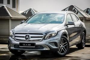 Экономичный внедорожник Mersedes Benz GLA 200