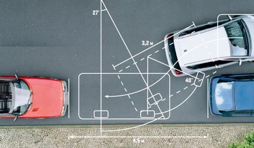 Правила парковки задним ходом