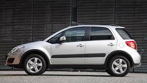 Экономичный внедорожник Suzuki SX4