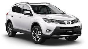 Экономичный внедорожник Toyota RAV4