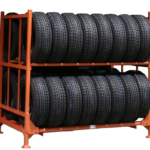 Идеи хранения колес на балконе
