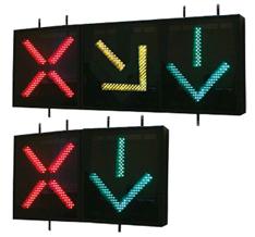 Реверсивное движение светофор