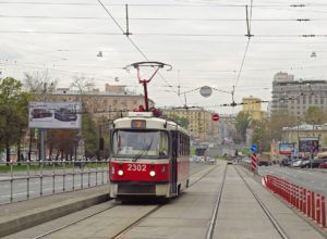 Когда выезд на трамвайные пути запрещен