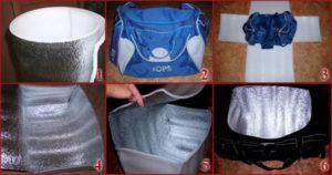Как изготовить сумку-холодильник своими руками
