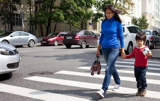 Правила пешеходного перехода для водителей и пешеходов