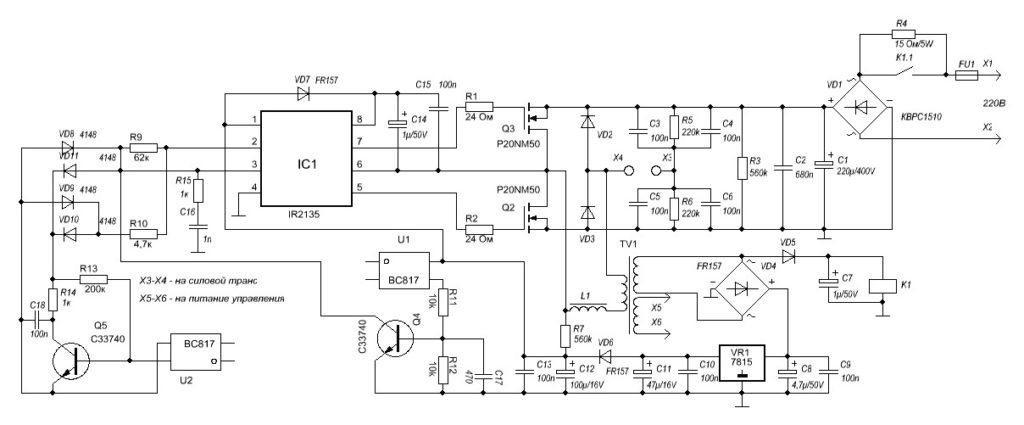 Зарядные устройства «Орион» – виды и схемы
