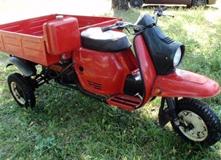 Мотороллер Муравей с двигателем Лифан, переделка кузова, тюнинг мотороллера