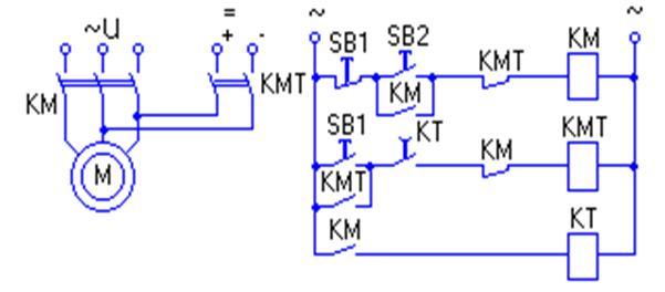 Способы торможения асинхронным двигателем