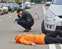 Наезд на пешехода: ответственность, штрафы по КОАП, статья УК РФ за ДТП со смертельным исходом