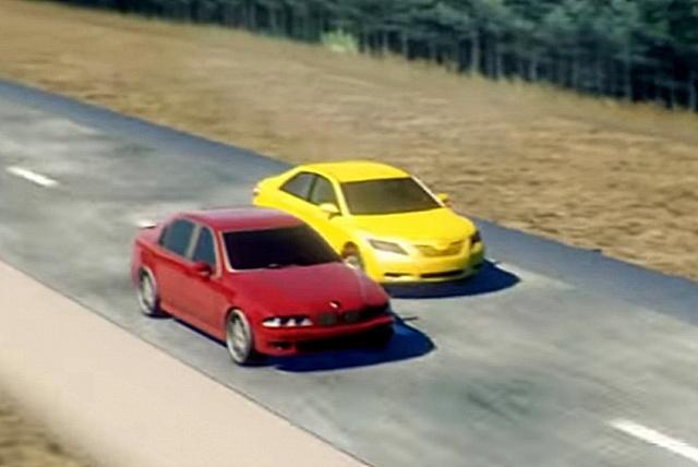 Опасное вождение: упертые водители на дороге